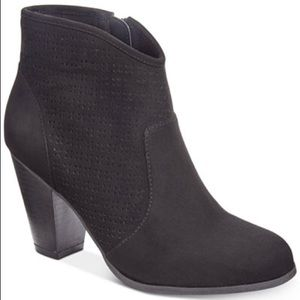 American rag (aria) perforated bootie